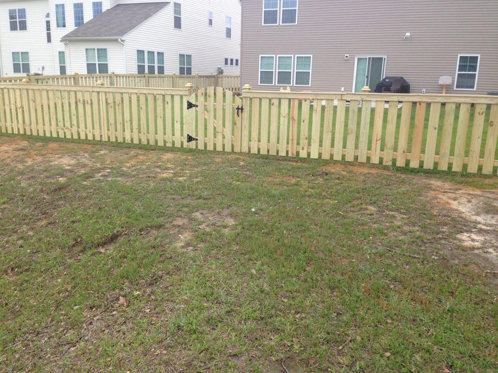 4 foot wood fences cs fences charleston wood aluminum fences 4ft wood fences 4 baanklon Images