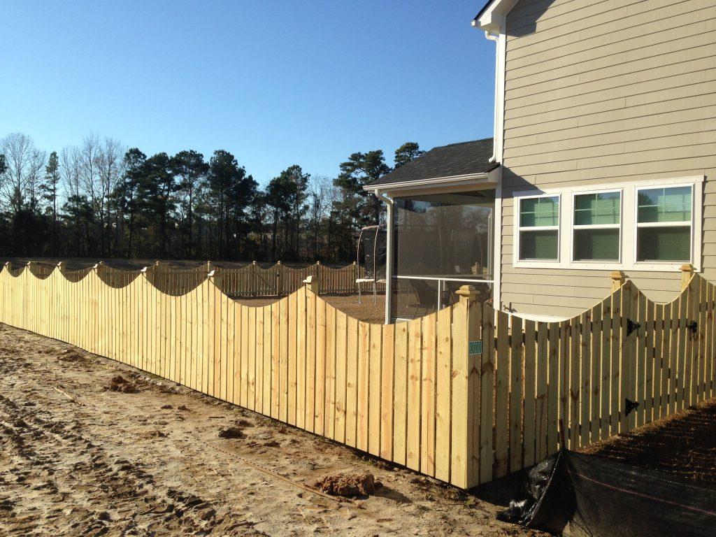 4 foot wood fences cs fences charleston wood aluminum fences 54 baanklon Images