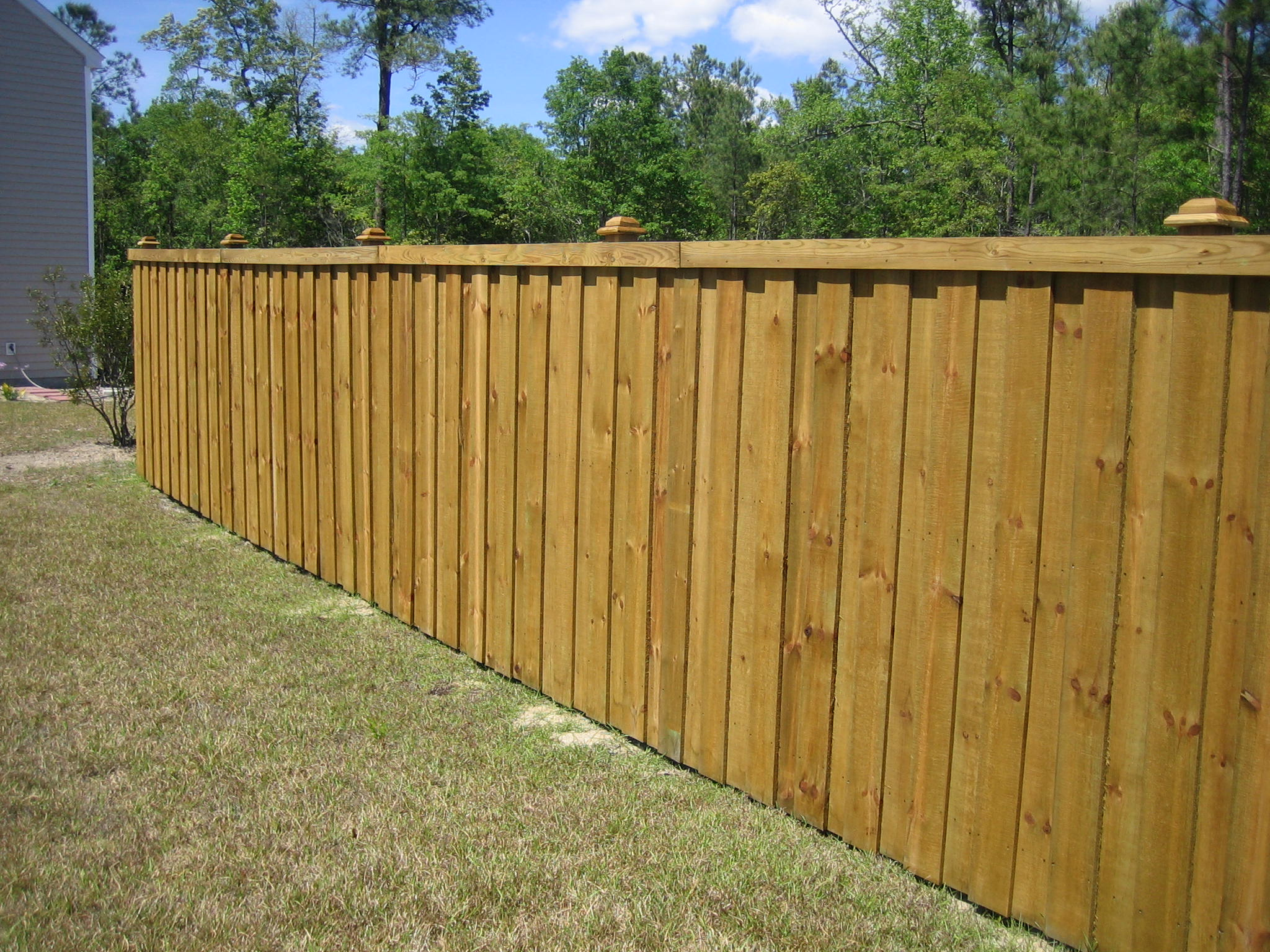 Decorative Wood Fence Home Decor